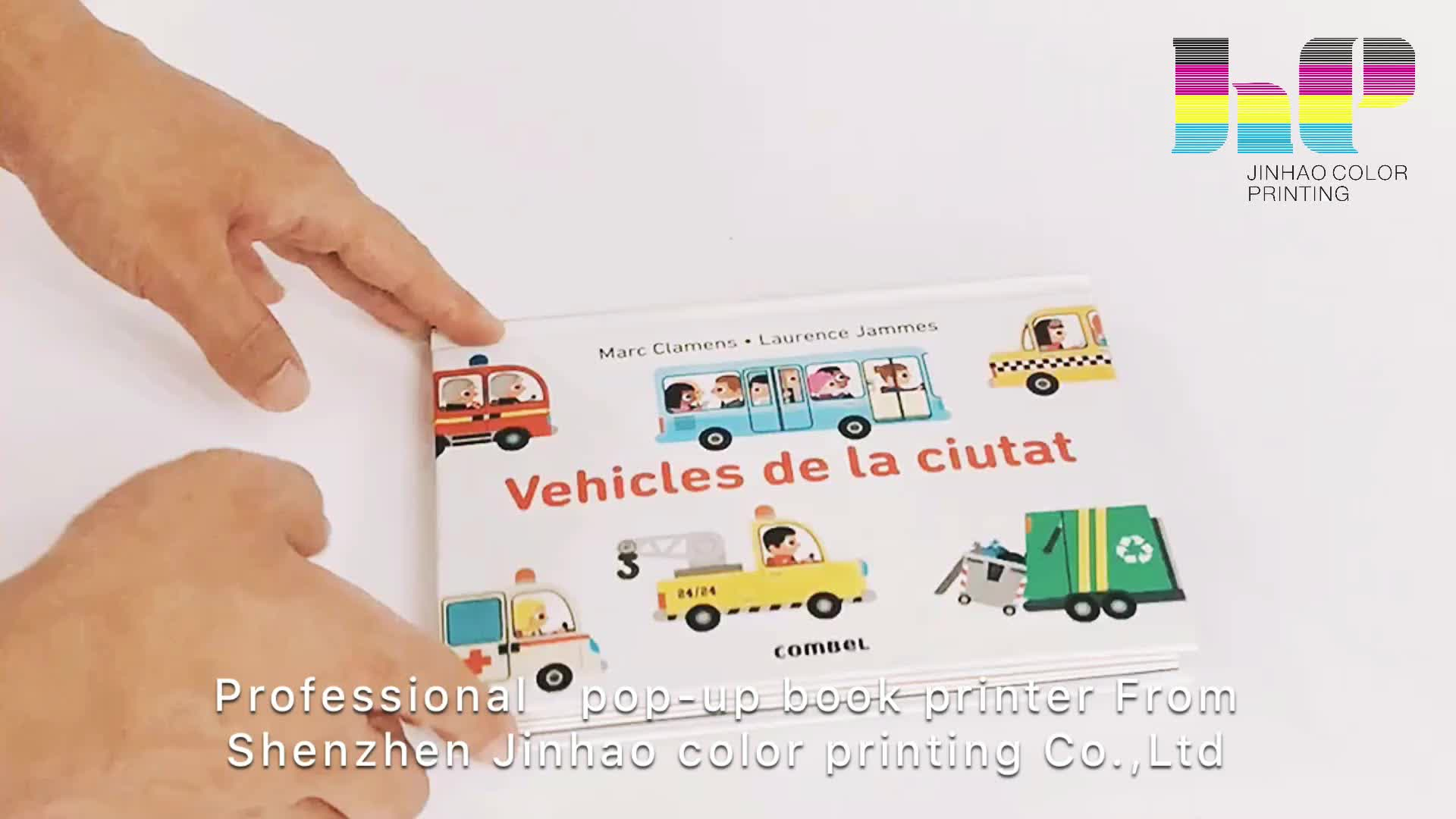 Children's coloring three-dimensional card book customized printing