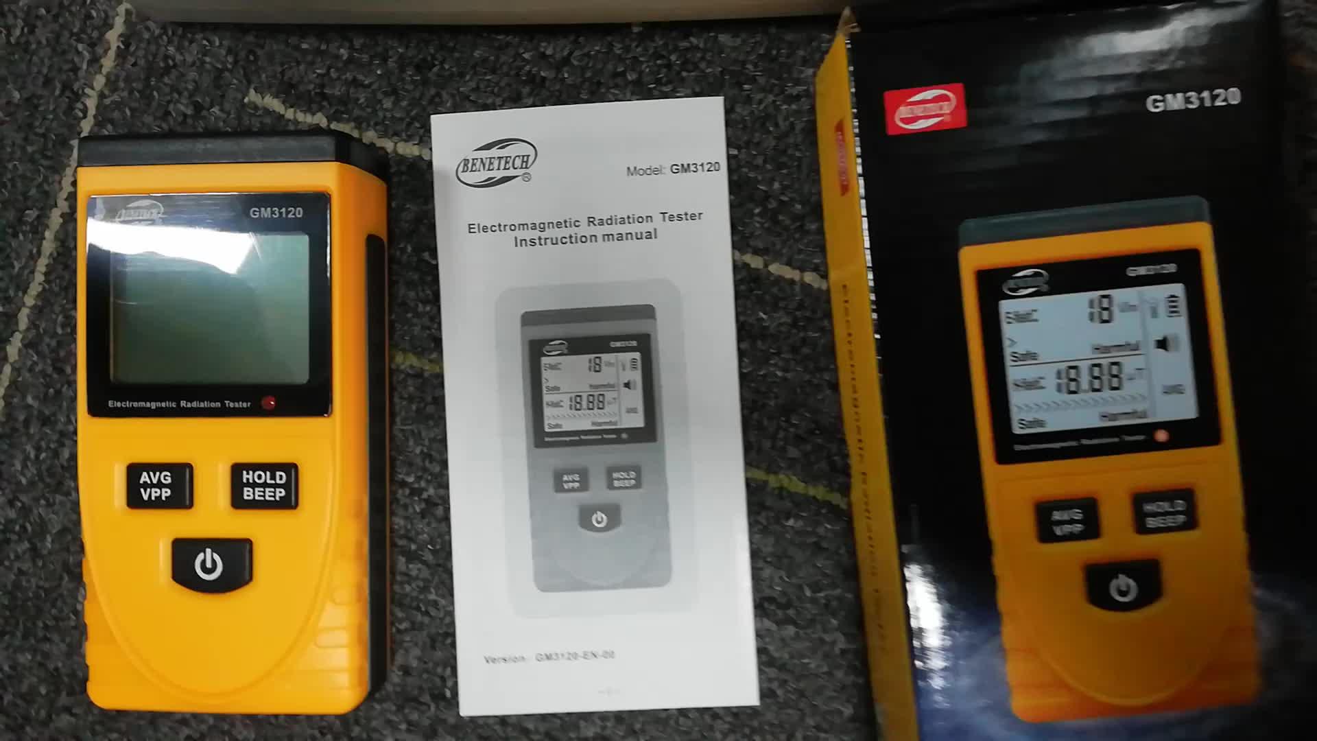 Digitale Elektromagnetische straling detector GM3120 voor huishoudelijke elektromagnetische straling tester apparatuur straling meten