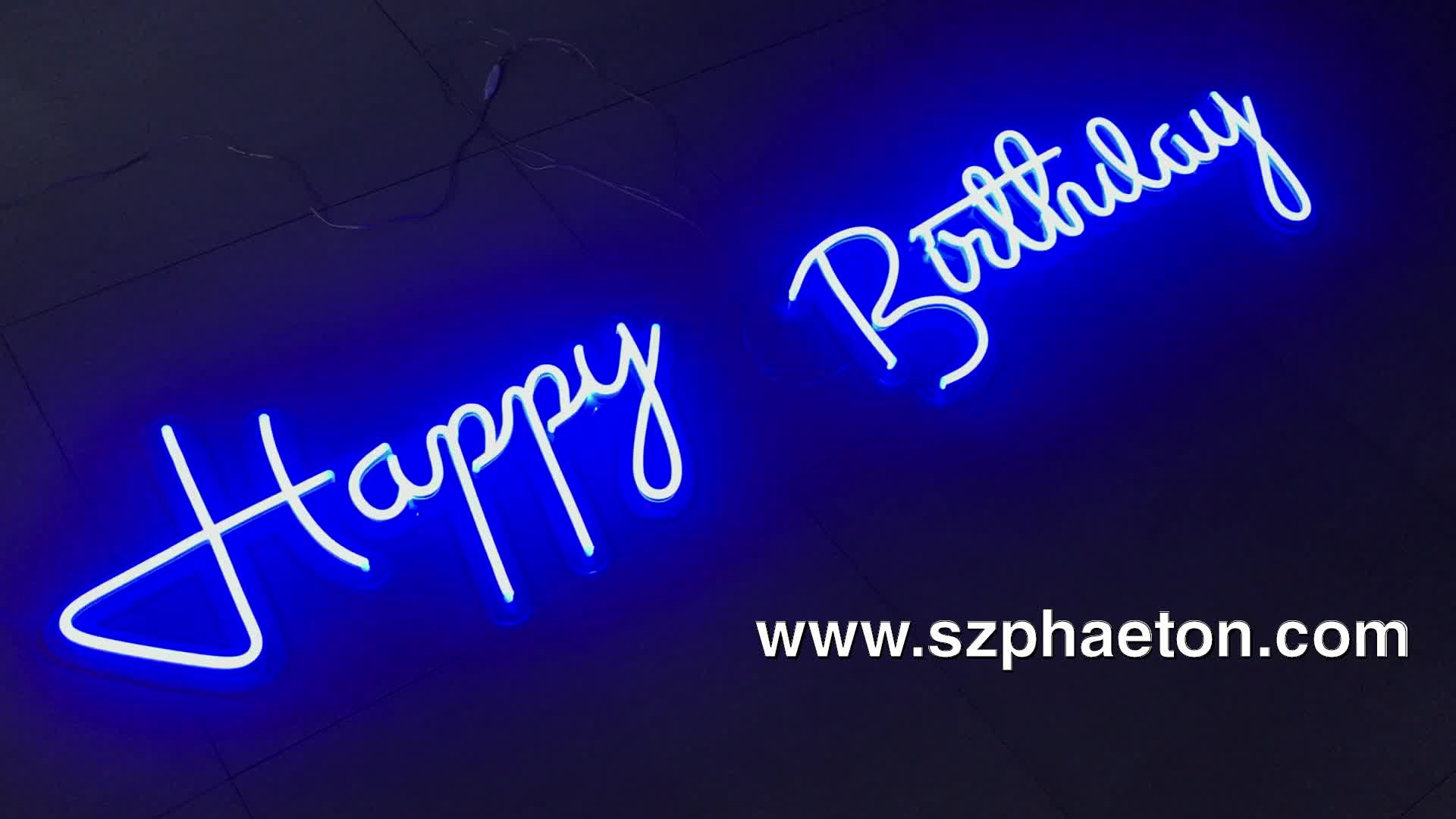 Wedding decorative neon sign color change, wall hanging colorful acrylic logo neon sign for events & party
