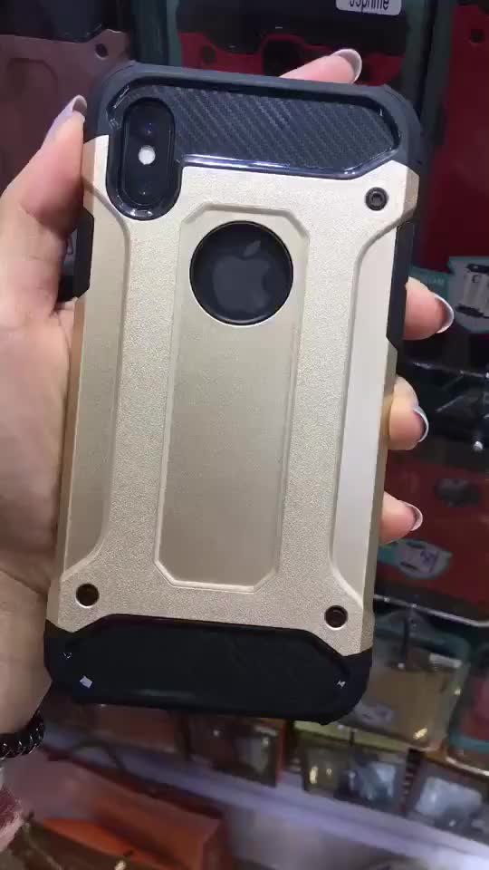 TPU PC Shockproof Combo Armor case for samsung S10 S10 Plus S10e