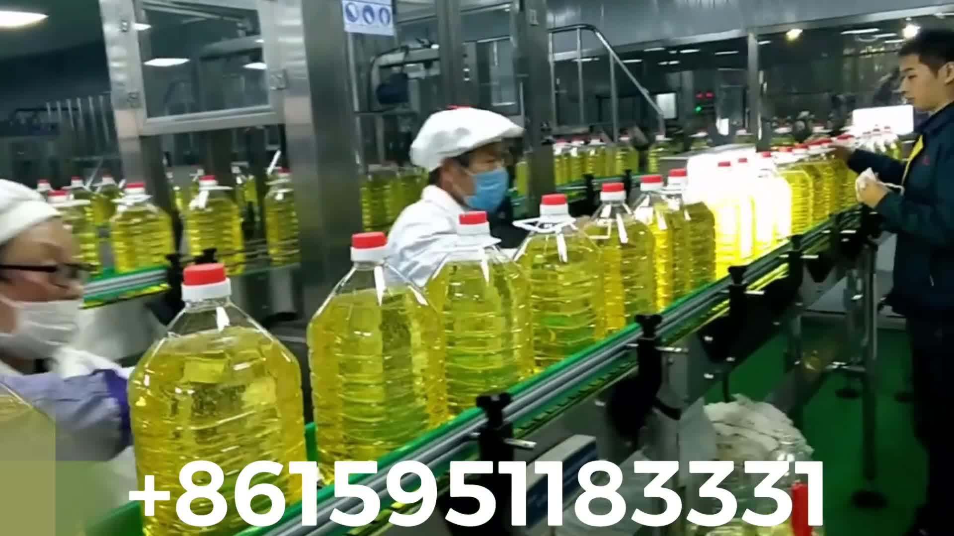 自動食用油食用油充填機