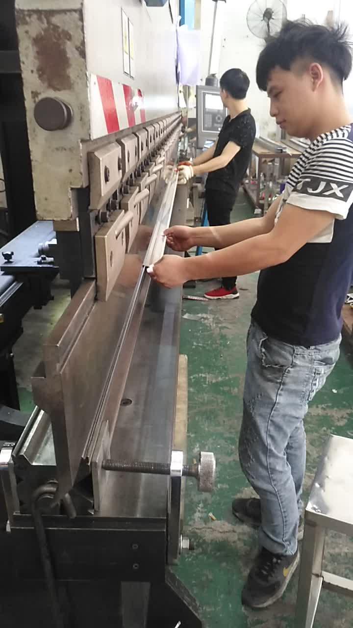 Durable metal flooring accessories stainless steel skirting 316