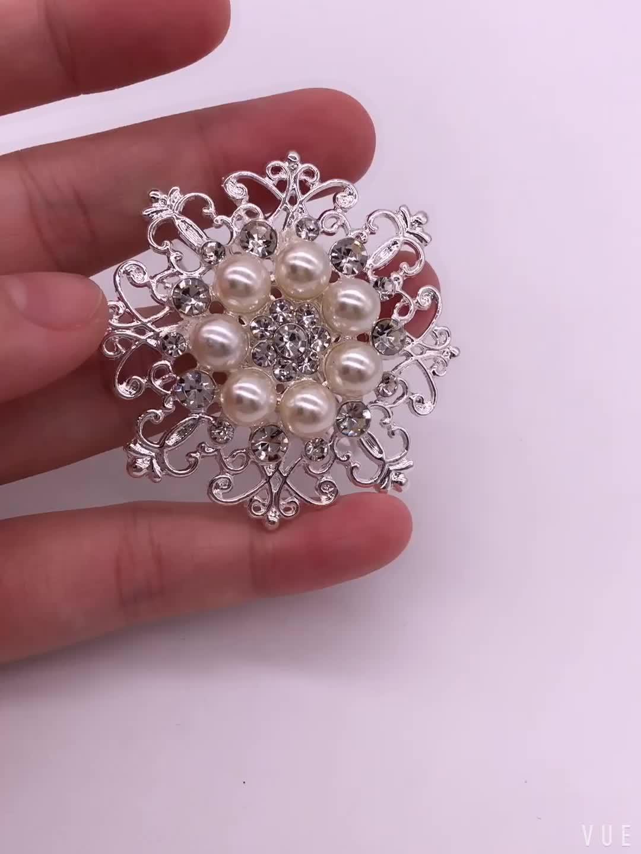 Direto da fábrica fornecimento a granel por atacado jóia da pérola anel de guardanapo de mesa decora