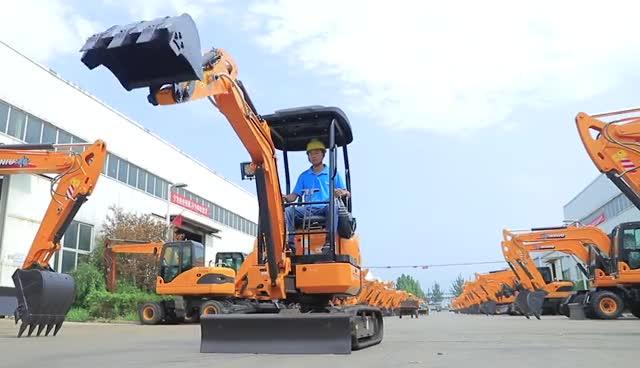 XN20 2.0 t Mini Escavadoras de Lagartas para venda