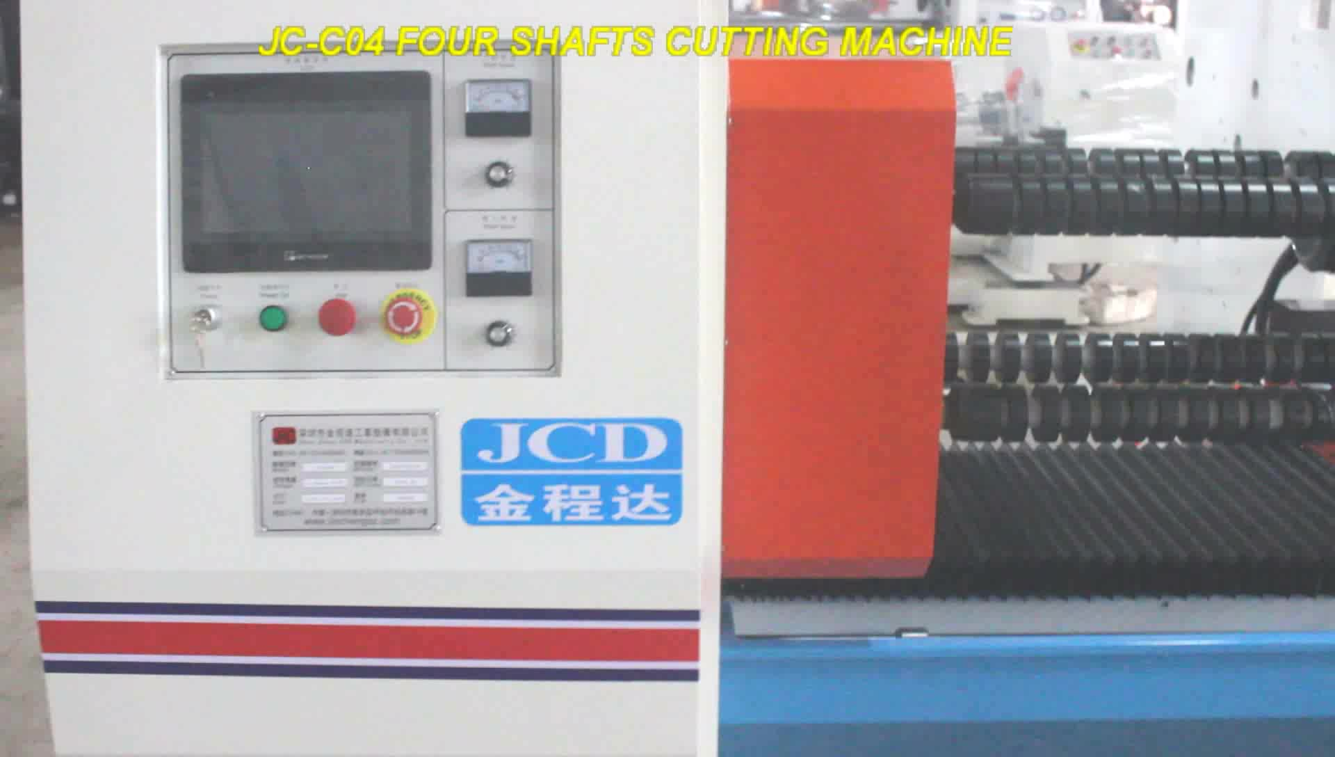Four shafts automatic pvc electrical tape roll slitting machine