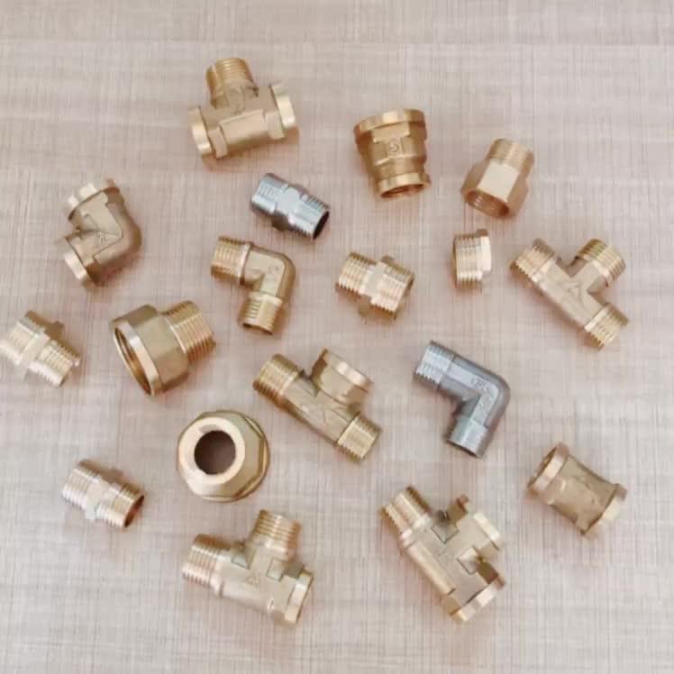 Messing gate valve