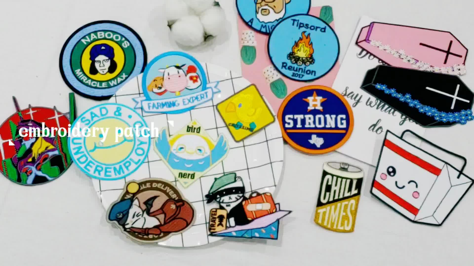 Personifizierte Nette Tier Eisen Auf Stickerei Patch Patches Für Kleidung
