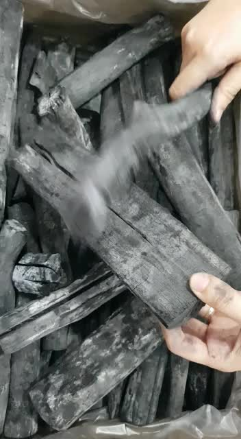 Best quality  Binchotan white charcoal  Maitiew from Laos