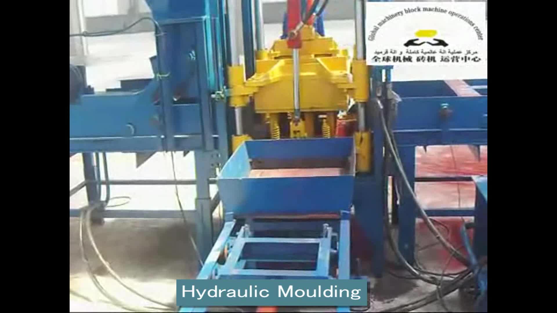 QTF3-15 béton couleur pavé bloc faisant la machine usine directe de moule en béton pavés