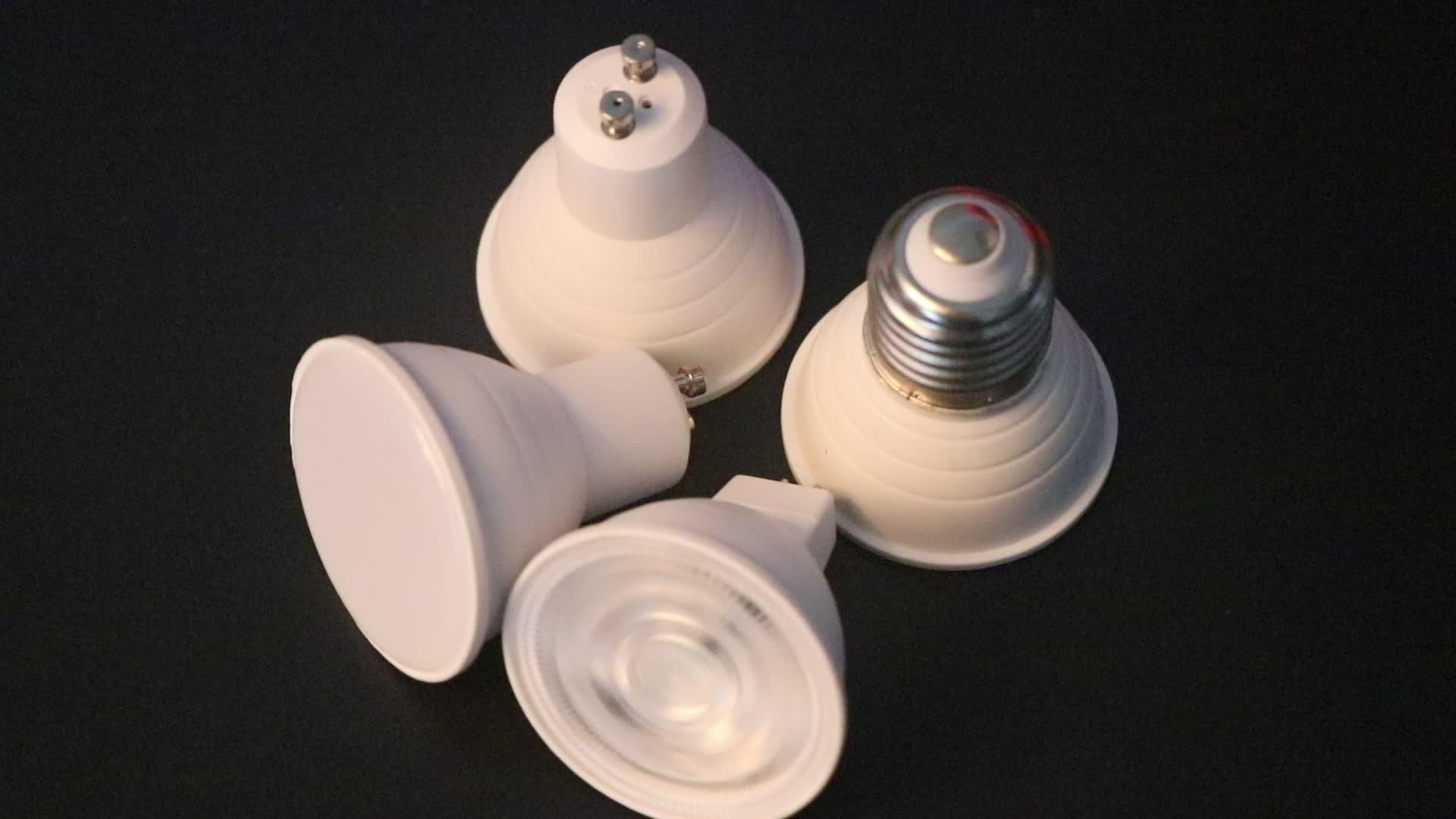 Qlamp Grosir Gu10 MR16 6 W 240 V Bohlam Spotlight LED Sama dengan 50 W Smd2835 GU10 Lampu 38 Derajat balok Sudut Tempat