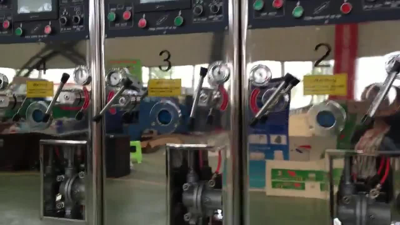 Multi colore di stampa slotting ondulato scatola di cartone macchine per la produzione