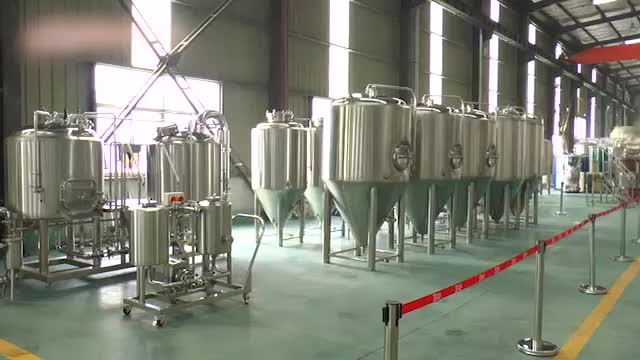 electric brew kettle micro brewery equipment 500l craft beer equipment