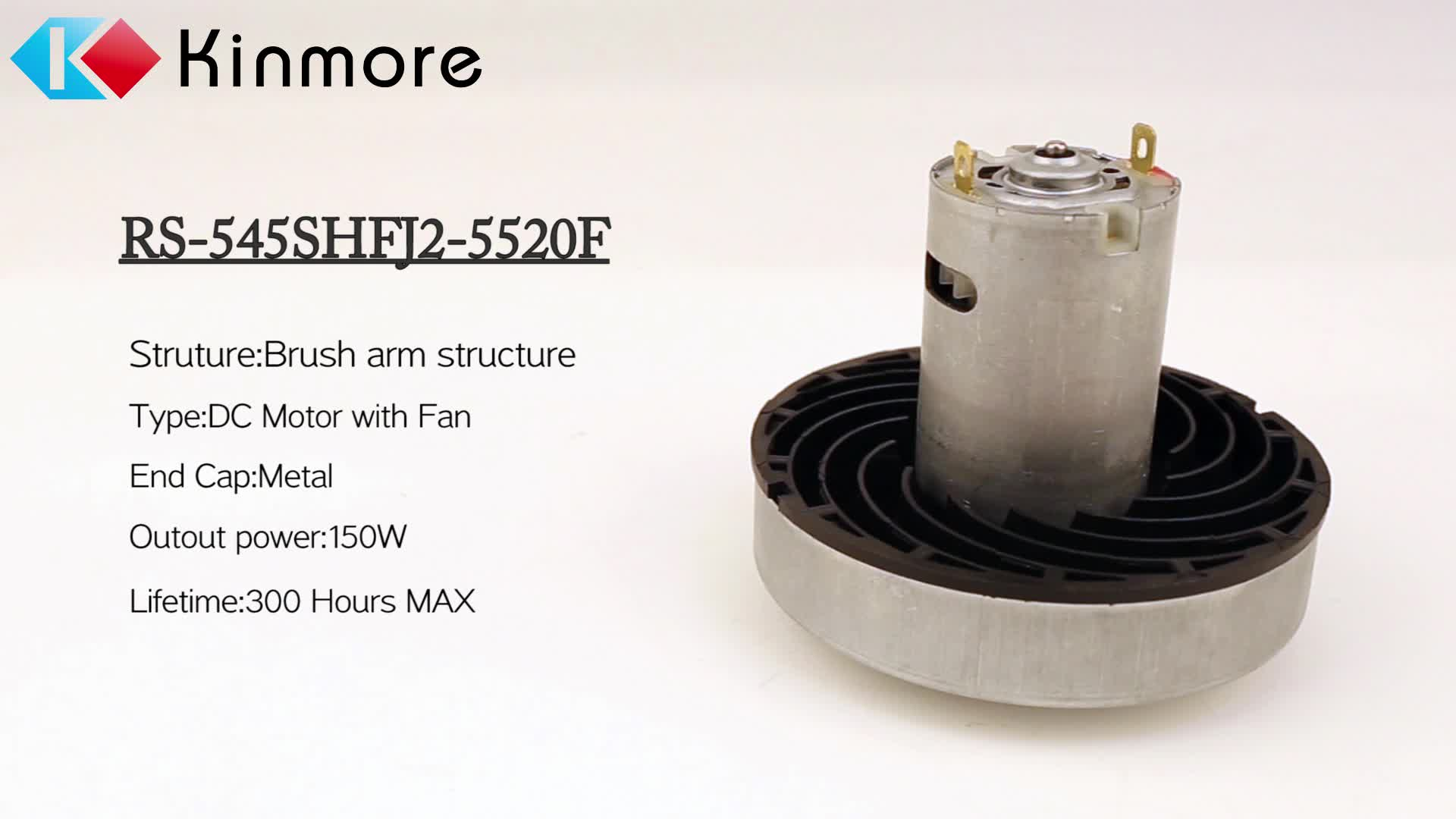 Low Noise Robot Vacuum Cleaner Motor Dc Electric Motor