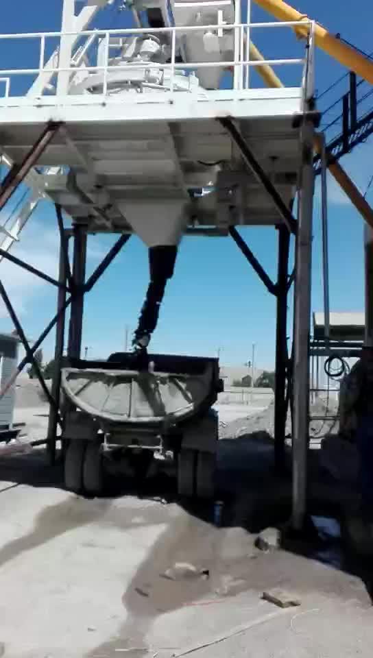 Mezclador de concreto de servicio pesado máquina de mezcla/Hormigón mezclador planetario Estructura de mezcla de concreto