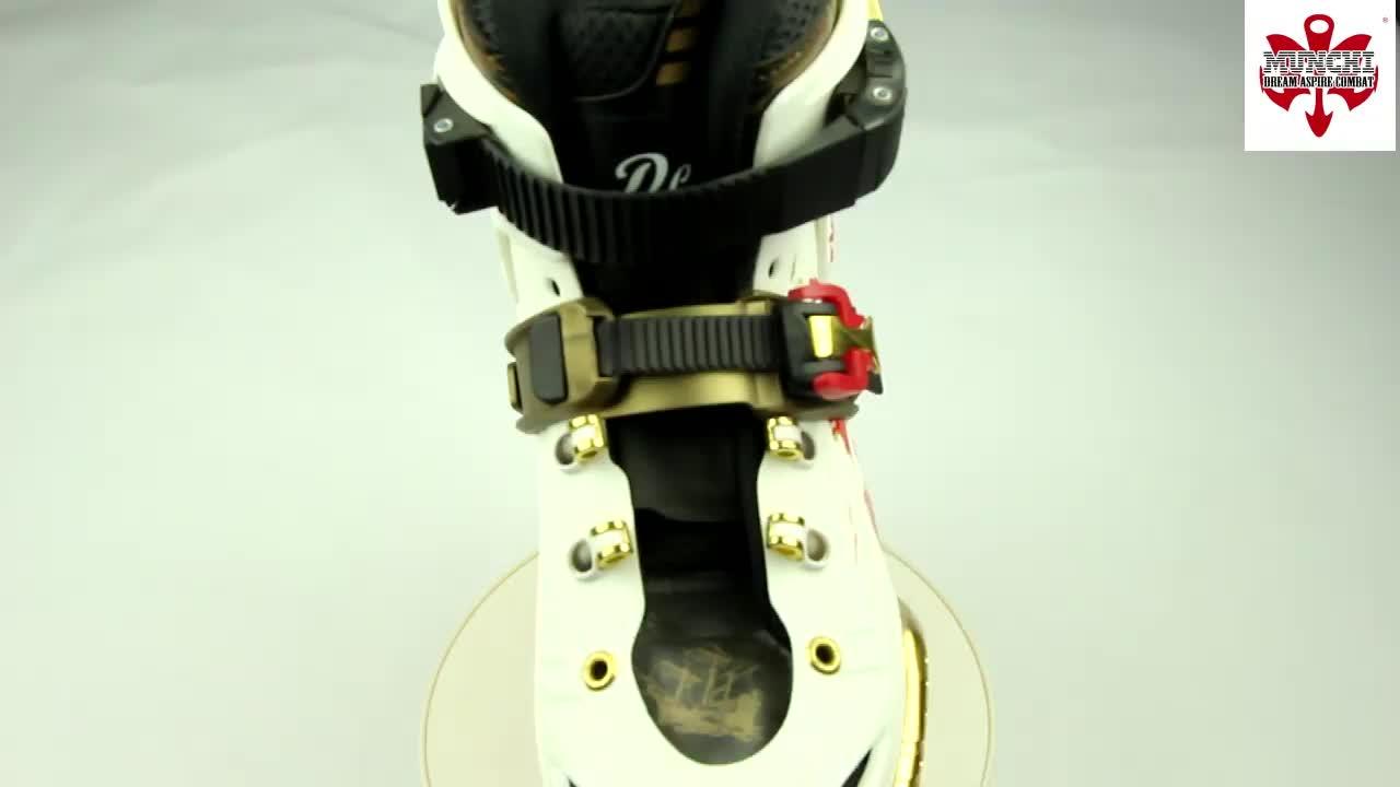 Venda Direta Da fábrica Personalizado PU 4 Rodas De Freestyle Patins Inline Fivela Para Adultos