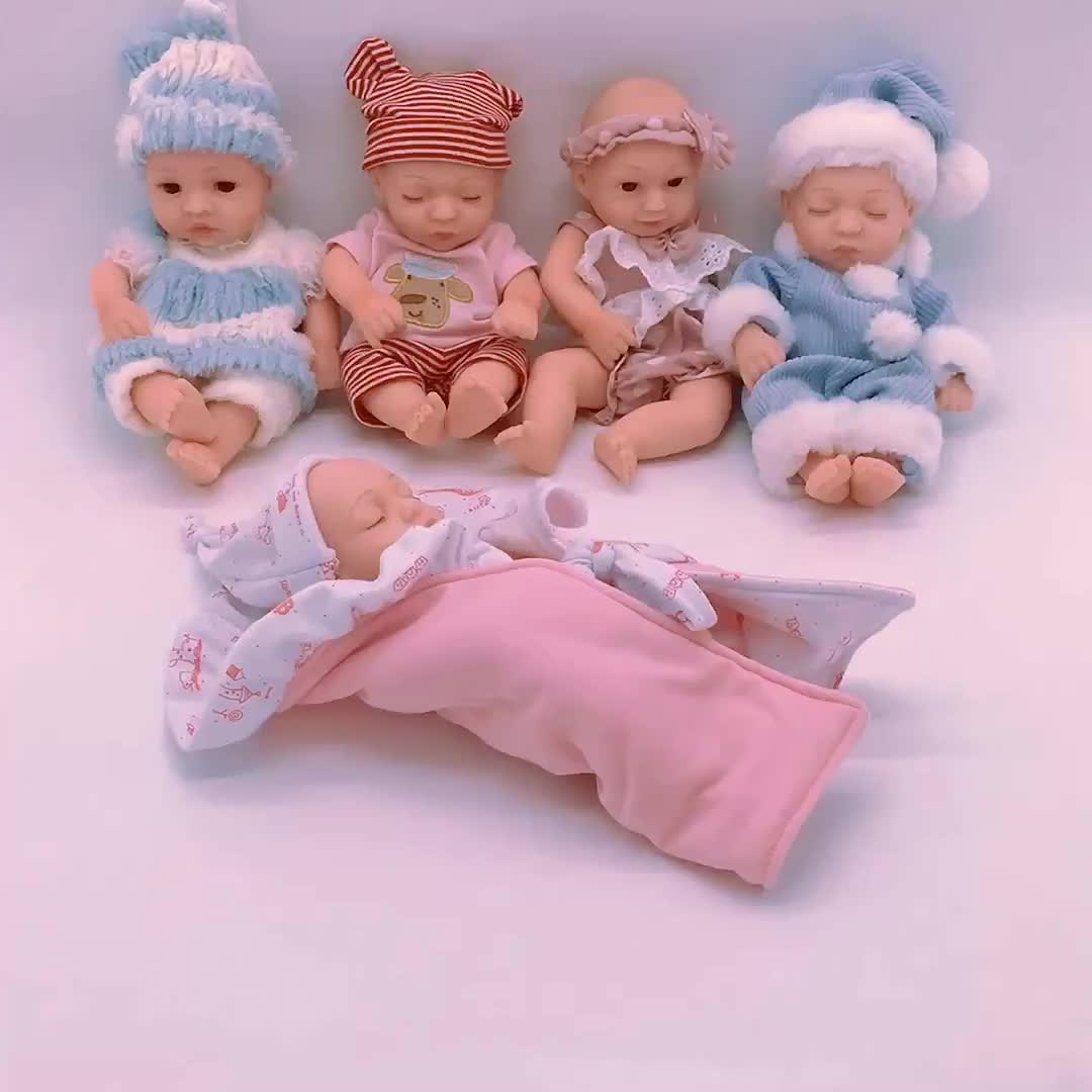 Best fashion silicone reborn crying lovely baby doll