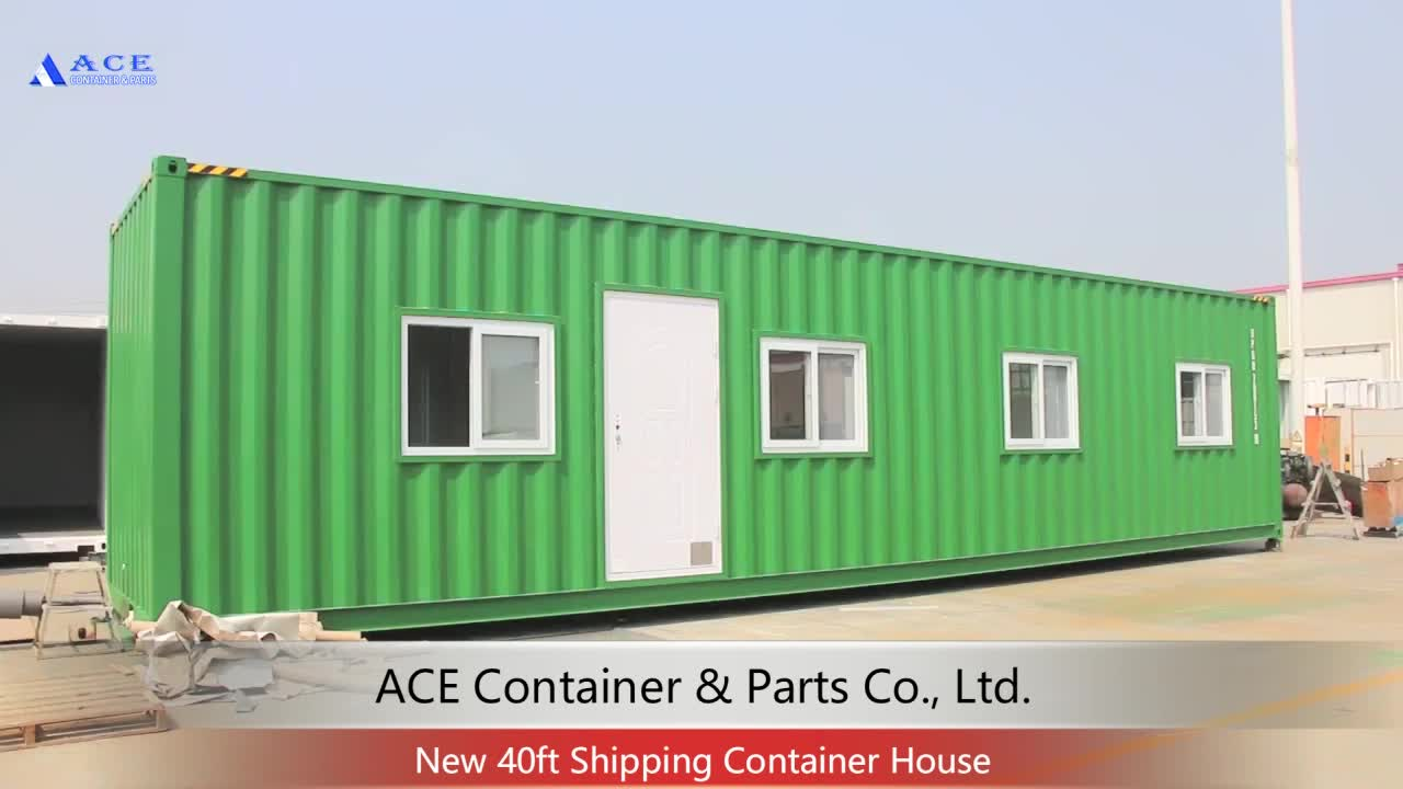 Customized 20 Feet Ready Made Living Container House Luxury