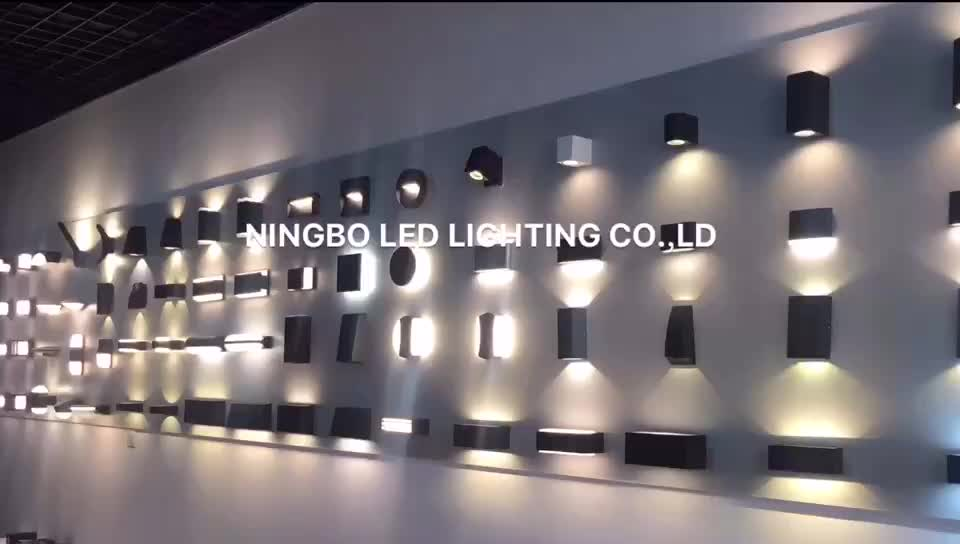 LED 20W oval shape die cast Aluminum bulkhead wall light waterproof