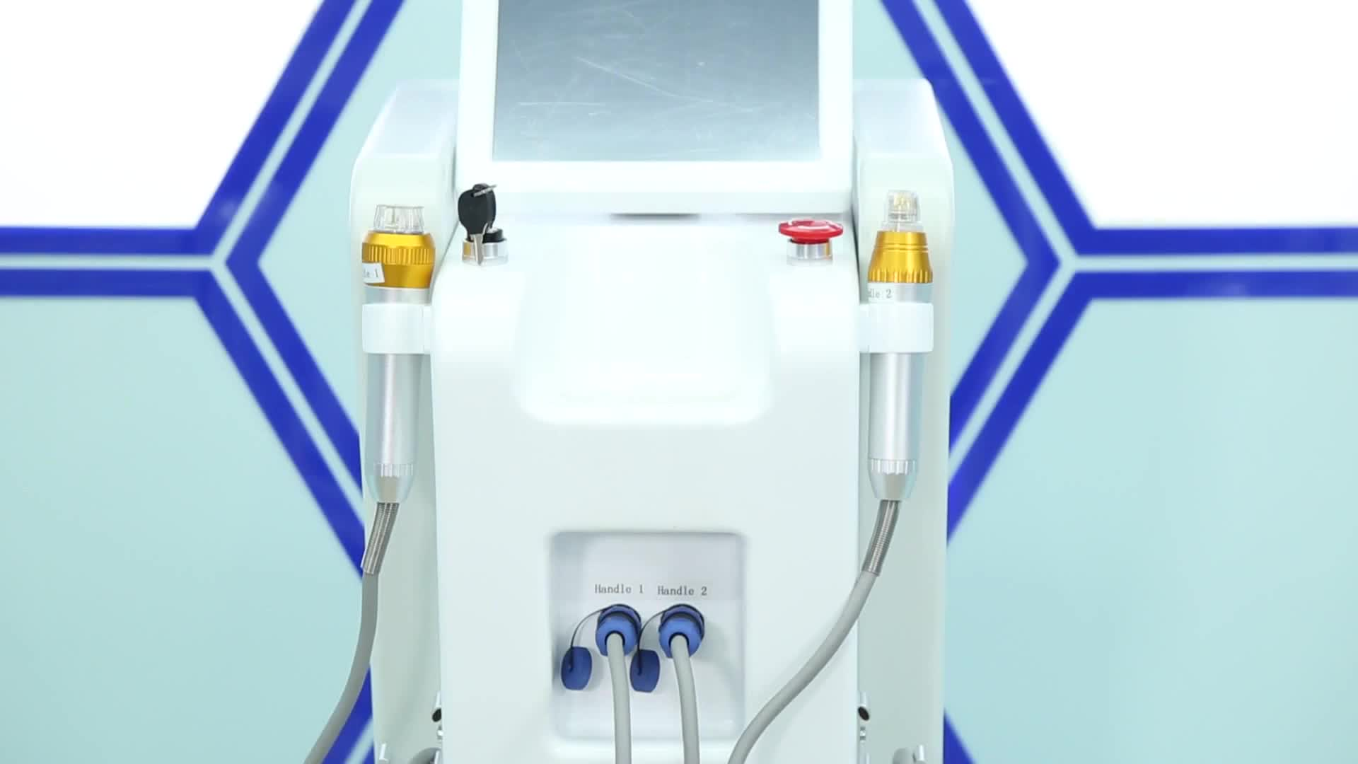 3 years warranty 1 - 10Hz rf treatment level skin tightening fractional rf microneedle machine