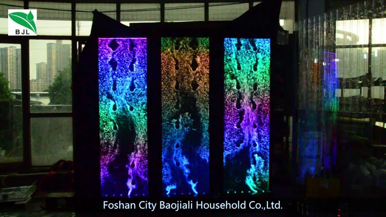Led RGB アクリル装飾水バブル壁間仕切りホテル/オフィス/レストランの装飾