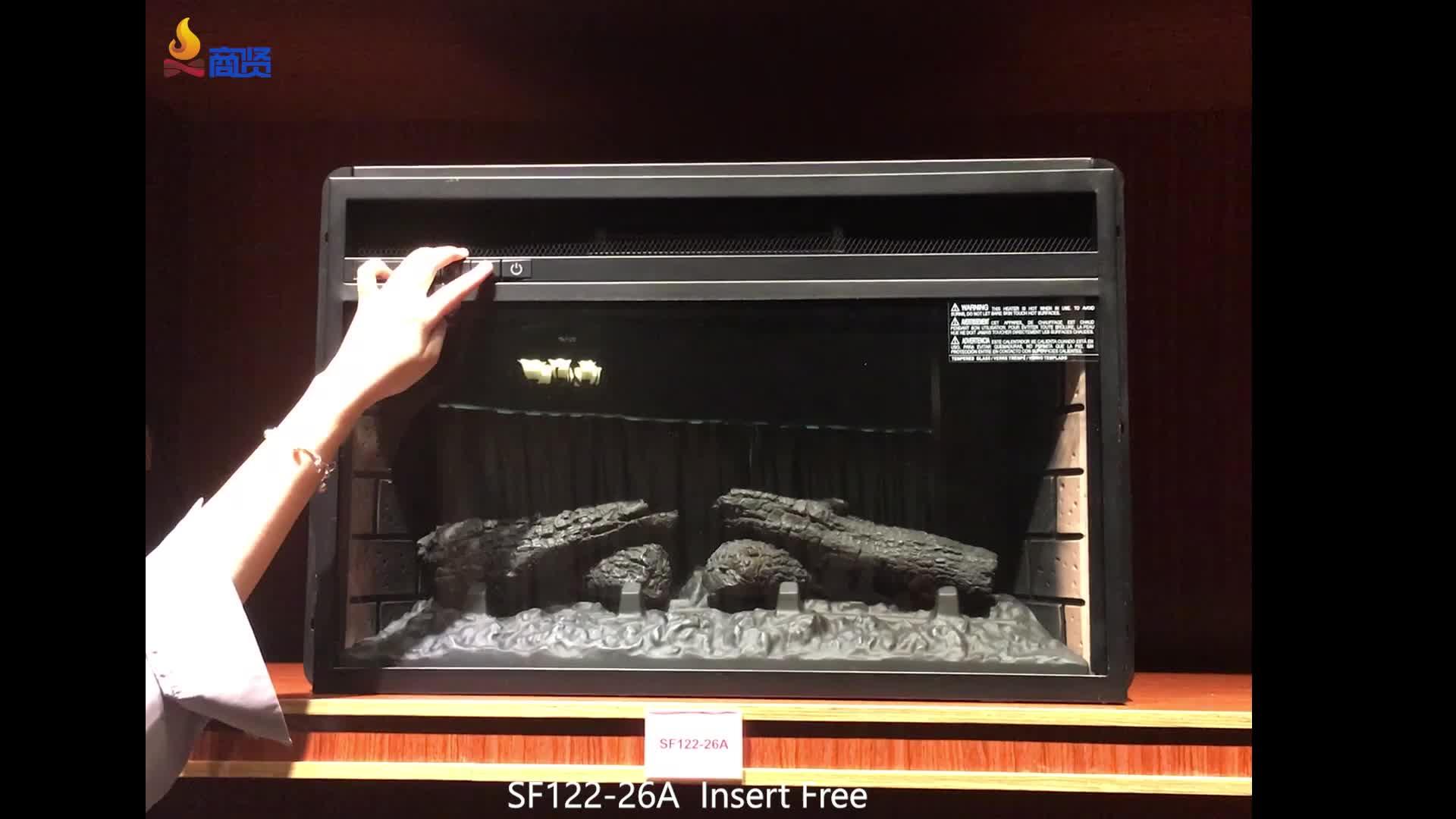 Dekor alev tv standı ile elektrikli şömine eklemek elektrikli şömine