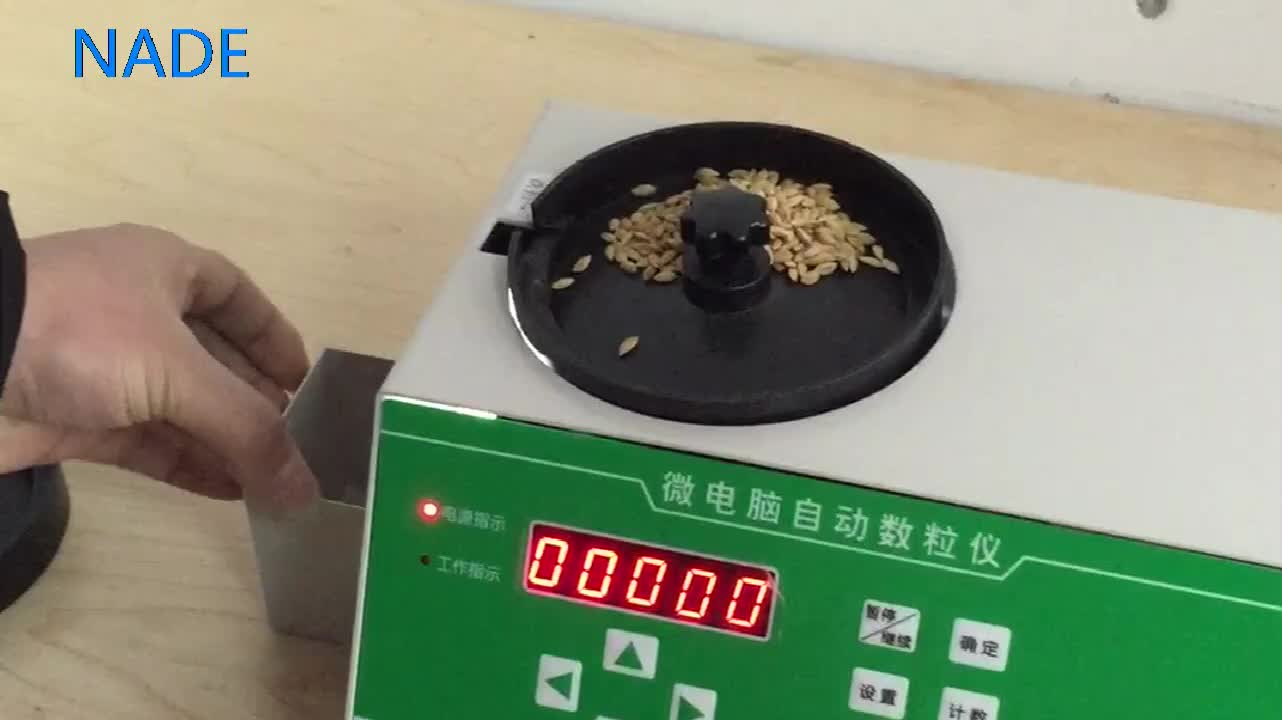 NADE Automatic digital seed counter LED counting machine for sale SLY-C