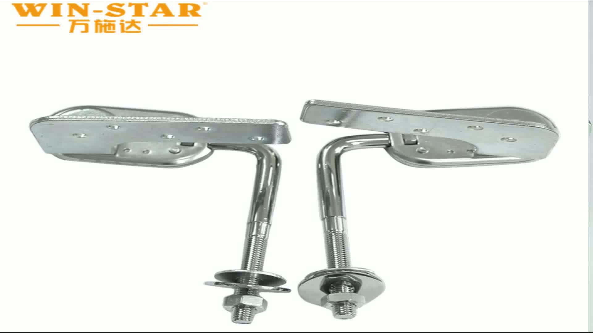 Fabricant Métal Canapé Appui-Tête Charnière 90-180 degrés Avec 6 Positions ZD-J004-A