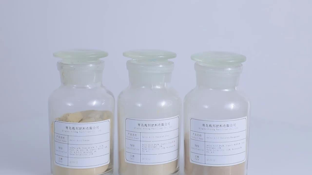 AgriPilot Gelişmiş Şelasyon Teknolojisi Amino Asit Şelatlı Çinko Mikrobesin Gübre