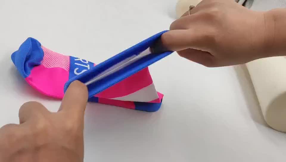 袜子工厂定制加工彩色足球运动袜 夏季薄款透气长筒足球袜