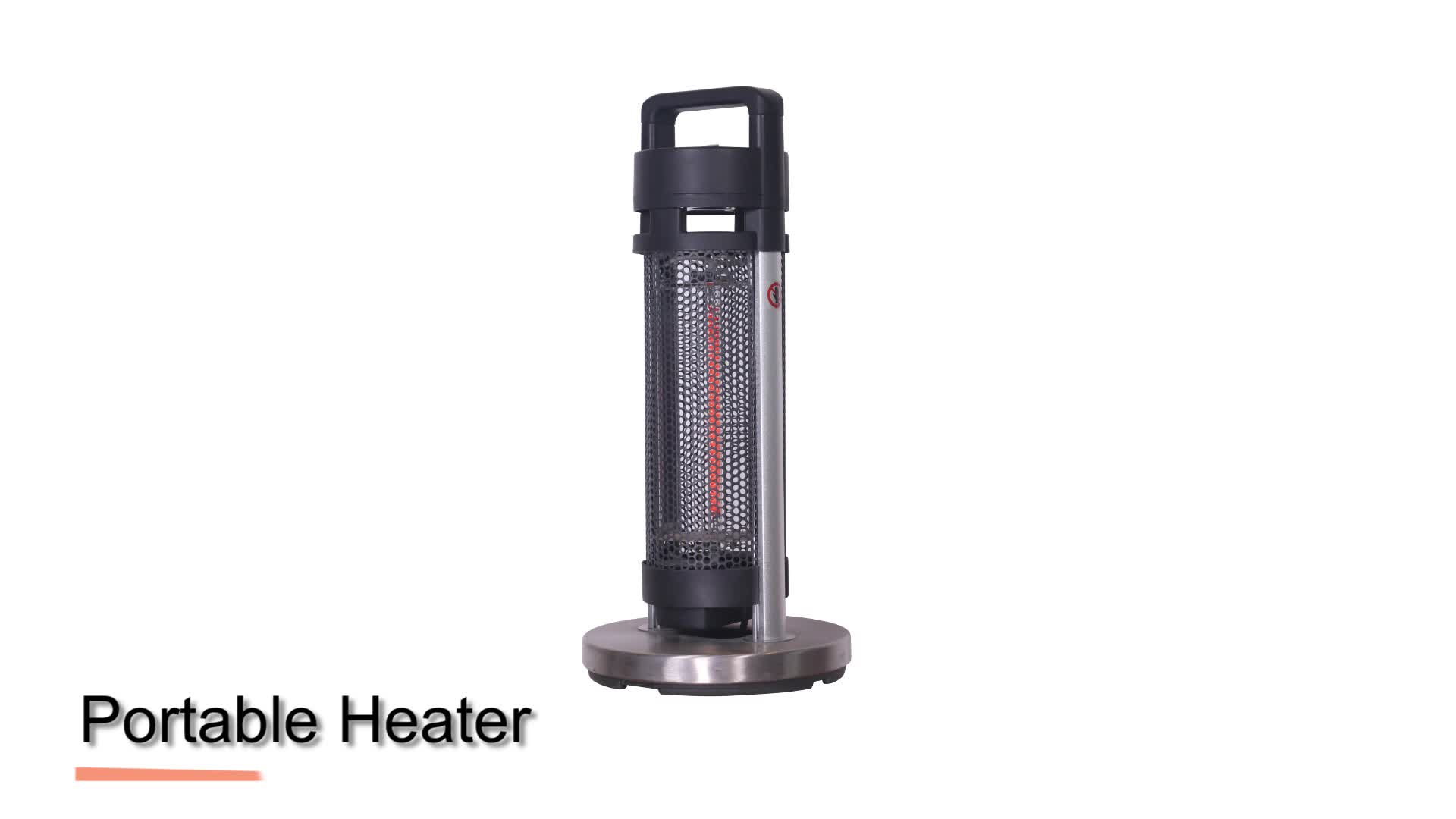 Infrared Portable Home Carbon Heater Electric Free Standing Heater