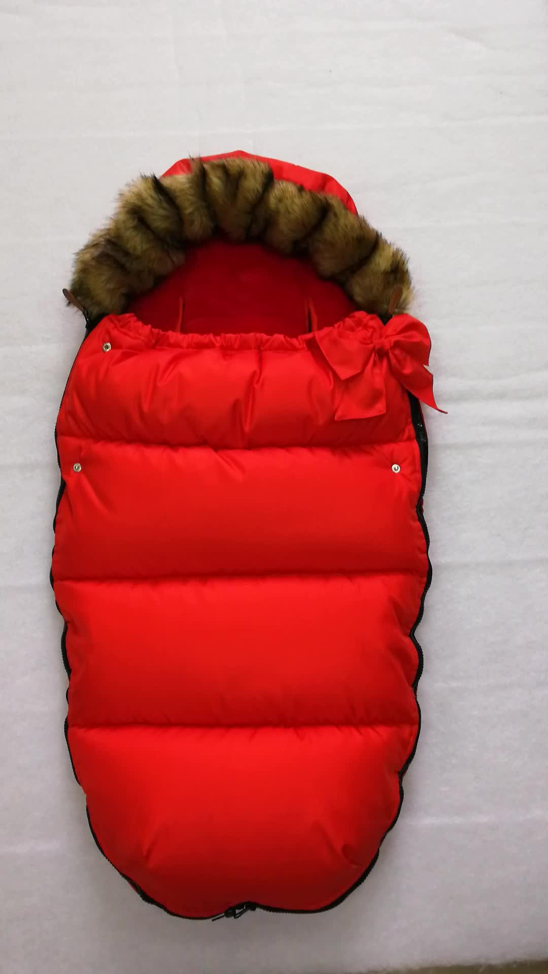 Universal waterproof baby footmuff sleeping bag สำหรับรถเข็นเด็ก