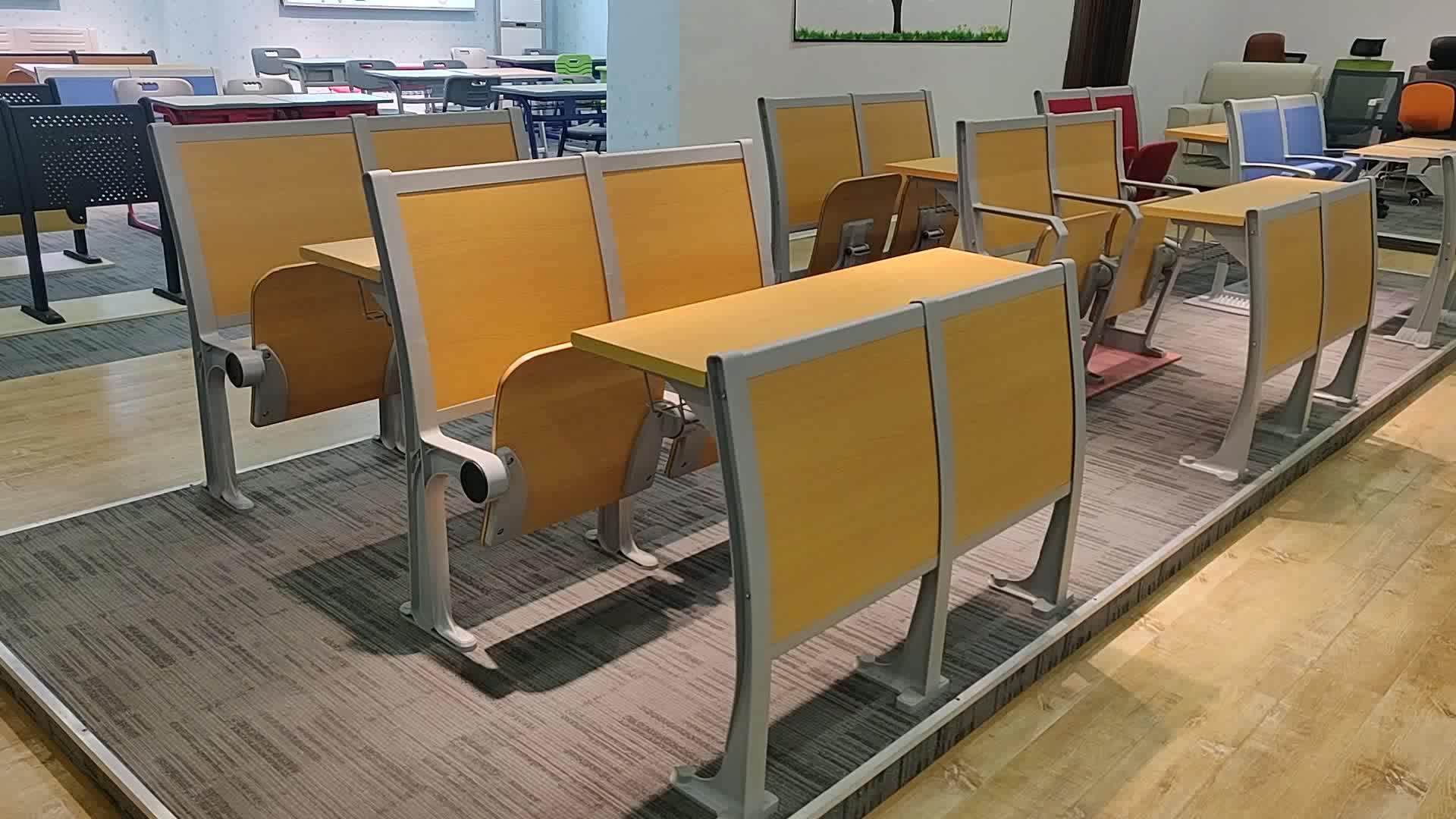School student klaslokaal meubelen studie tafel stoel arm stoel voor scholen