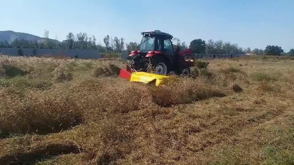 2.45 M genişliği 3 nokta monte çift çim biçme makinesi diskli çim biçme makinesi