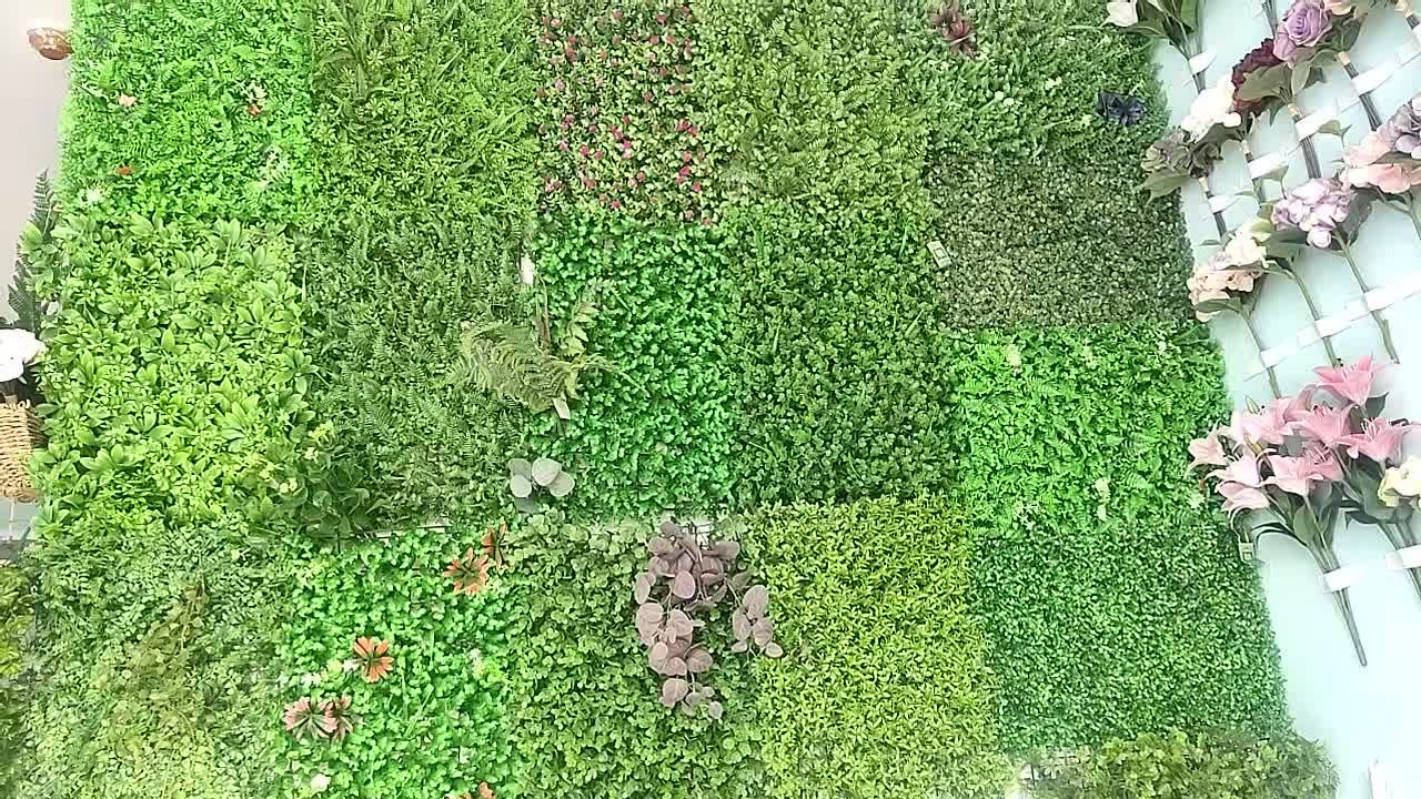 High Quality Green Wall Artificial Leaf Wall For Decoration