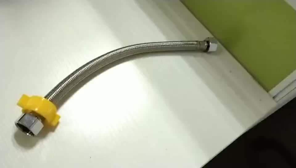 stainless steel flexible braided metal hose for wash basins inlet hose water pipe