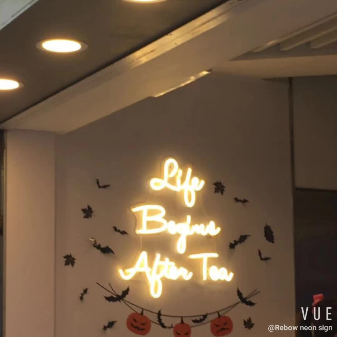 Best selling  Christmas signs decoration colorful neon sign