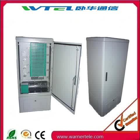 W-TEL outdoor/indoor SMC optic fiber distribution cross connection ODF DDF cabinet
