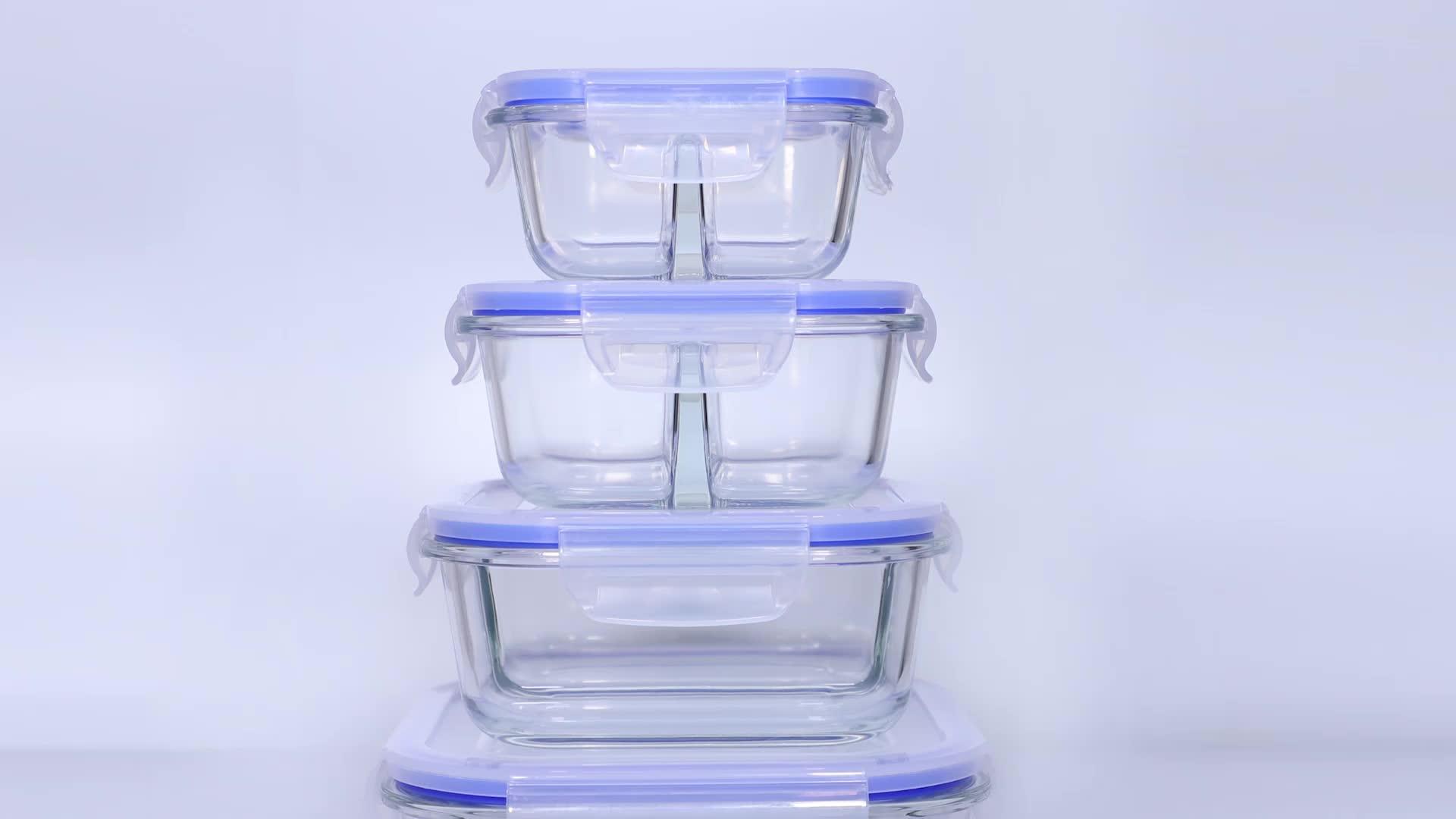 Fabrikpreis Freie Probe Rubbermaid Easy Finden Deckel Aufbewahrungsbox Faltbare Luftdichten Behälter für Lebensmittel