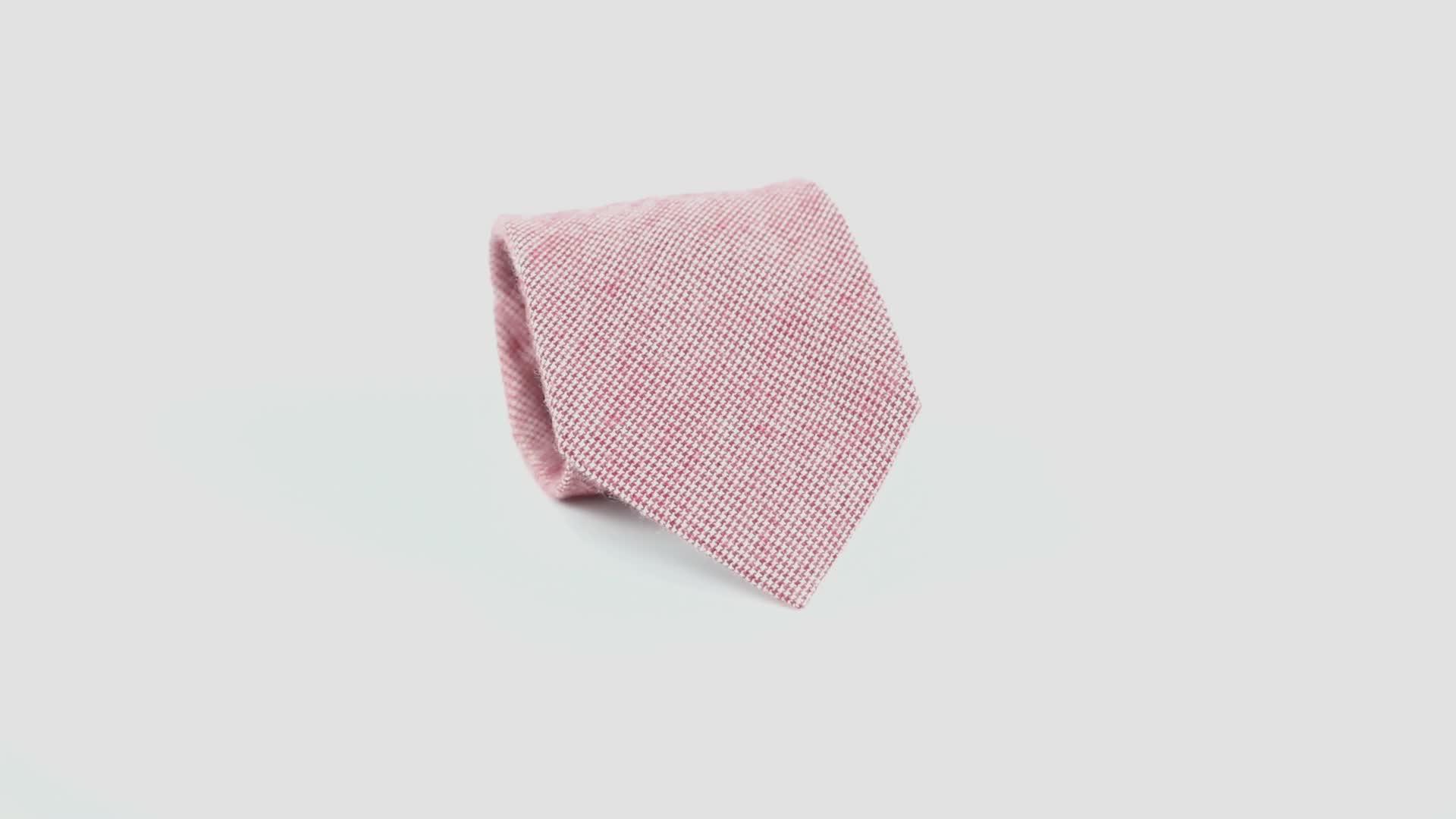 Chine Offre Spéciale Professionnel Mode Hommes Coton Floral Cravates Rouges Fabricant