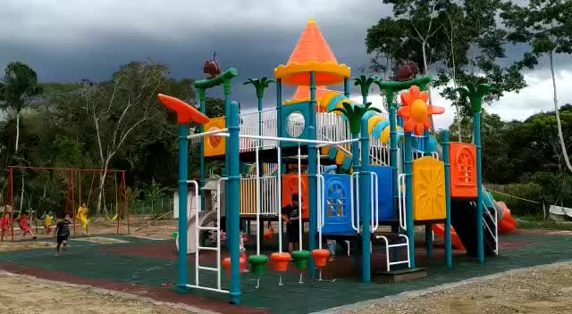 High Quality Outdoor Kids Playground