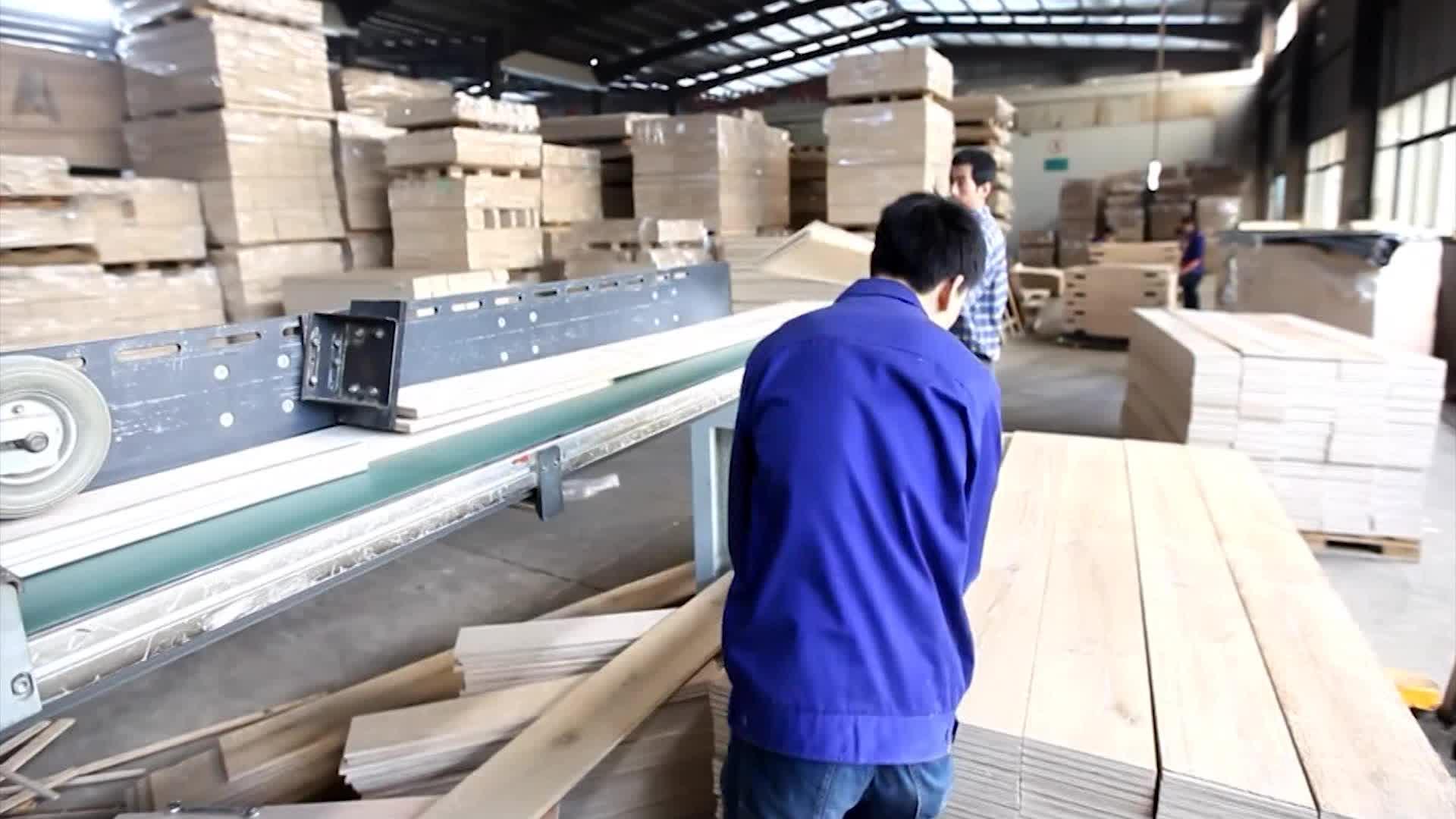 Engrasado apenado de roble europeo suelos de madera