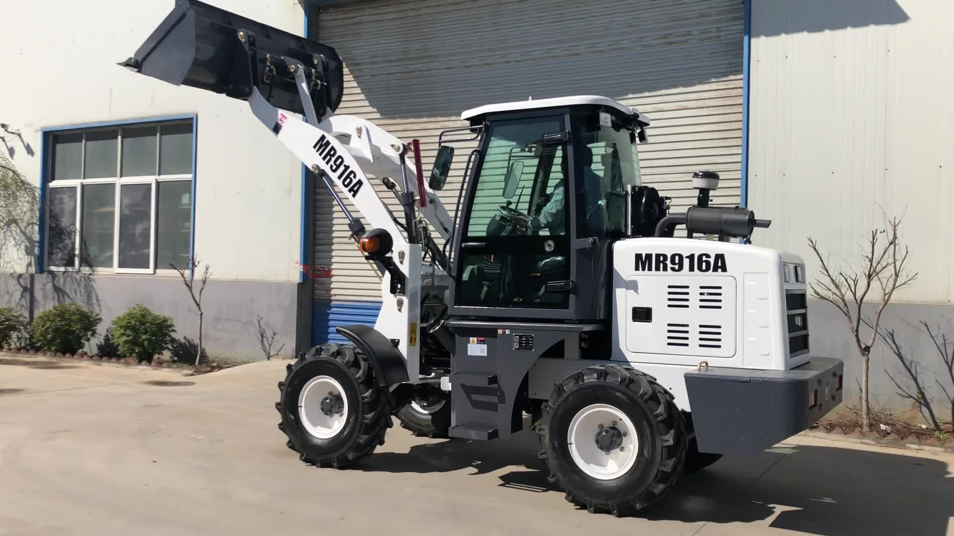 1.2Ton 1 ton Mini loader with different