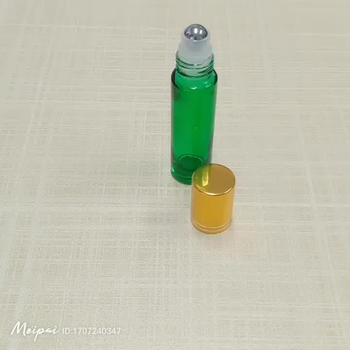 ขายส่งที่กำหนดเองที่ว่างเปล่า 10 ml 15 ml 30 ml 50 ml eco friendly skincare เครื่องสำอางบรรจุน้ำมันหอมระเหยแก้วม้วนระงับกลิ่นกายขวด