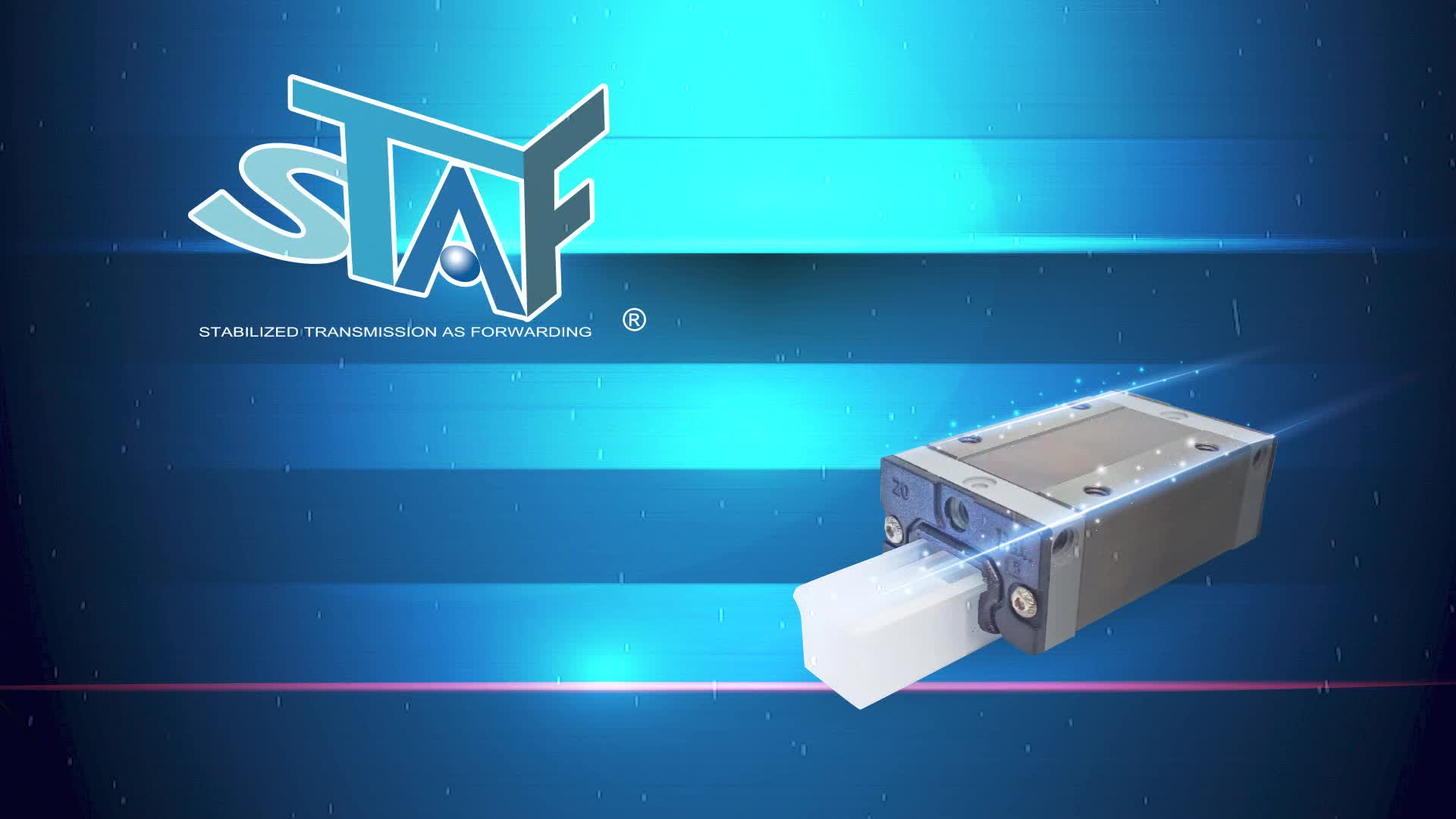 STAF H20FN H20FN Flange Type Linear Rail Guide Block