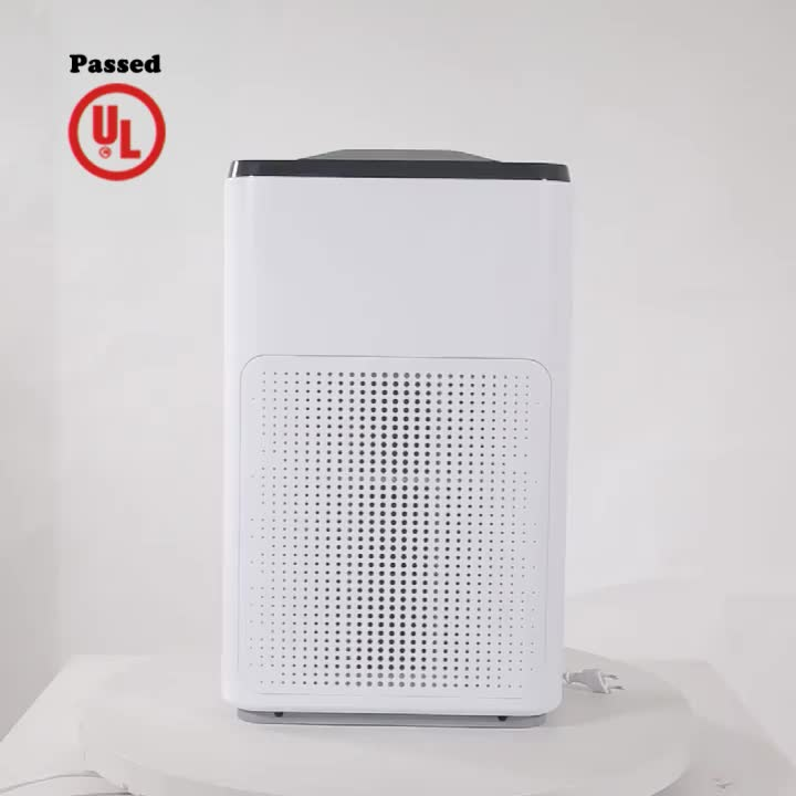 Olansi Best Quality Hepa Anion Table PM2.5 Air Purifier Machine for Home