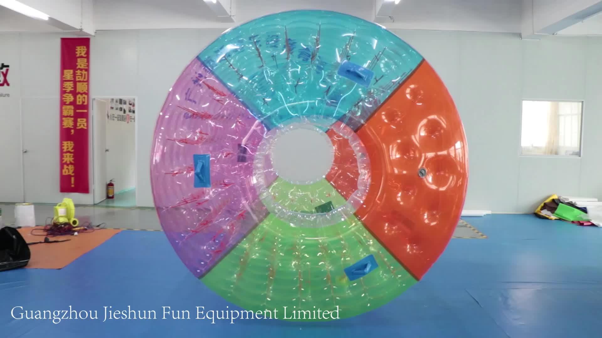 充气球空气阀滚轮充气水辊出售