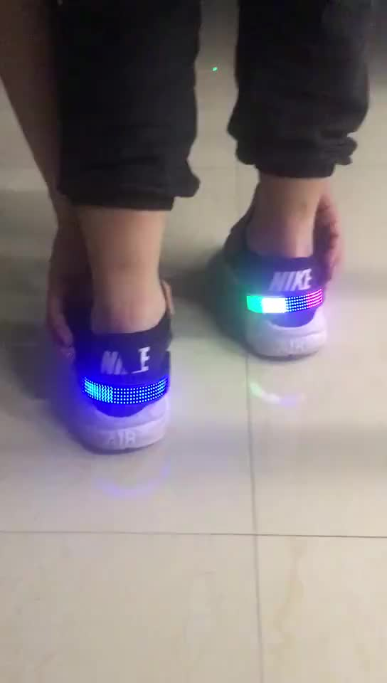 USB Charging Night-Runner Led-Glow Light Up Led Shoe Clip Lights For Sneakers