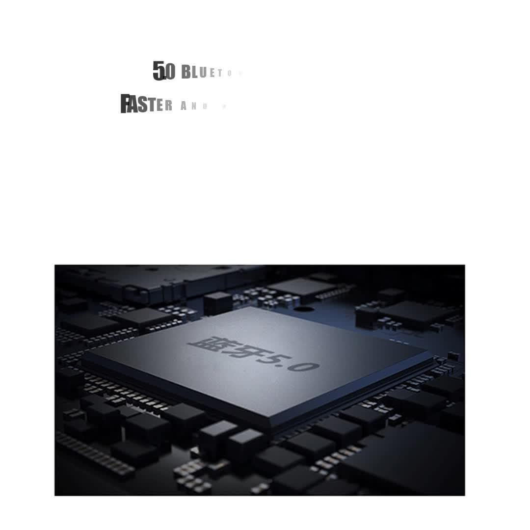 UIISII BT118 वायरलेस हेड फोन्स निविड़ अंधकार Hd के साथ स्टीरियो ब्लूटूथ Earbud रनिंग खेल ईरफ़ोन शोर रद्द