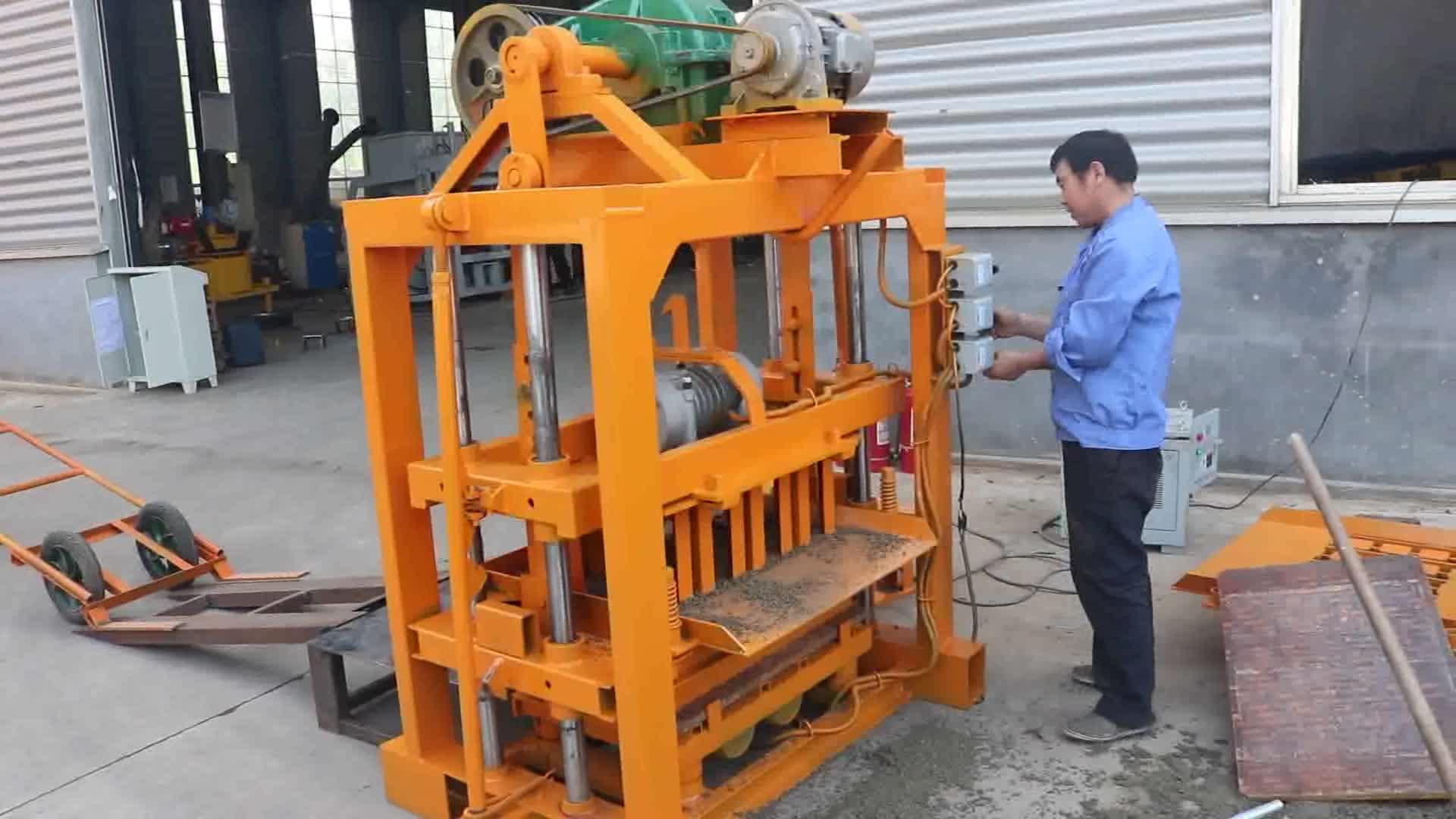 Block Making Machine Price List Small Scale Industries Qt4