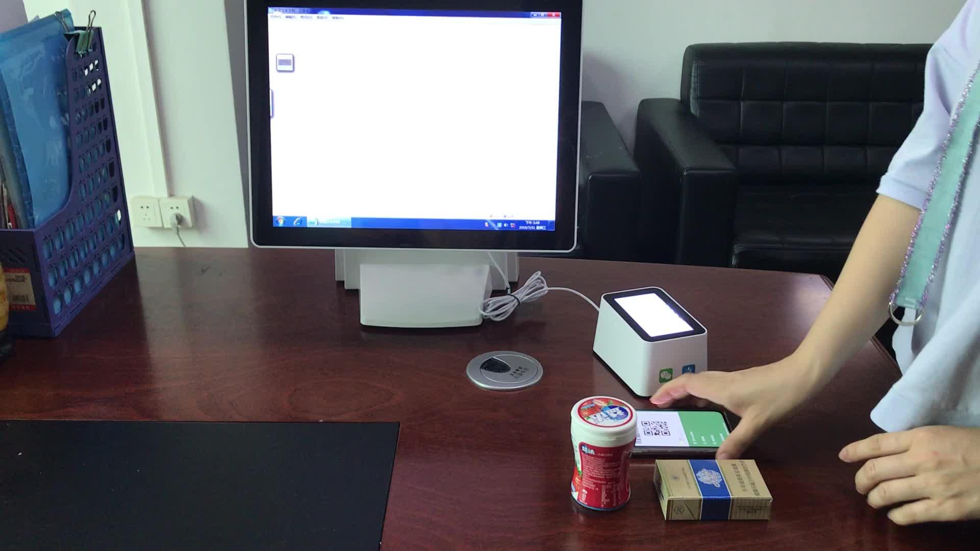 Scanner de codes à barres 2d et QR, boîte de balayage Usb, pour android, paiement Mobile, chine